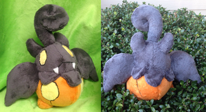 Pumpkaboo Plush by Glacideas