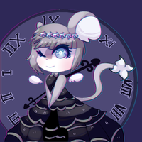 Gothic Doll Mouse by Magicskies