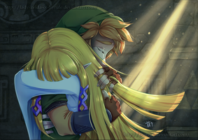 :Collab: Waking Up by Lady-Zelda-of-Hyrule