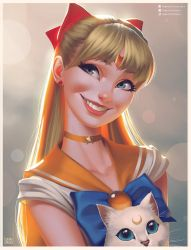 Sailor Venus Portrait by lenadrofranci