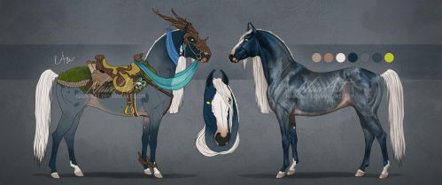 -= Horse design - AUCTION CLOSED =- by Naia-Art
