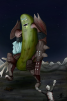 Pickle Eidolon by ChromeFlames