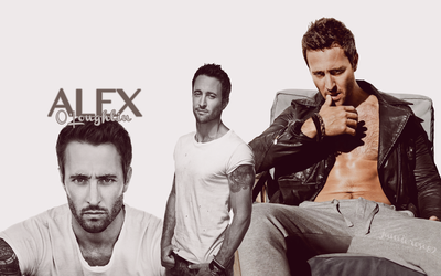 Alex O'Loughlin Smolder by JamieRose89