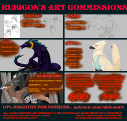 2018 Commissions Info by Rubicon-art
