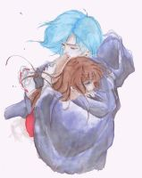 Miyu- In his arms by Byohazrd13