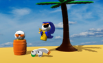 Phillo and Greyeen playing around in 3D Builder by Waltman13