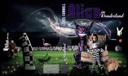Alice In Wonderland - Cover Book by MischiefIdea