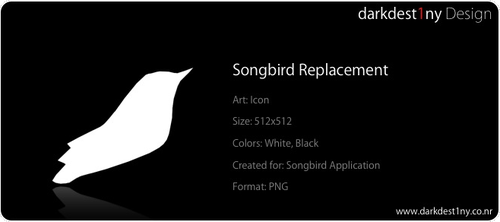 Songbird replacement icons by darkdest1ny