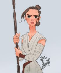 Star Wars Rey by Ardinaryas