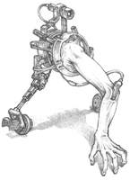 Mr. Useless Arm On Wheels by robotwo