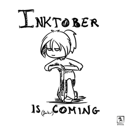 Inktober is coming by Moufpik