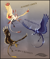 Bird Creature Adopts (CLOSED) by Virensere