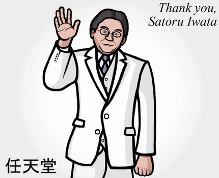 Thank you, Mr. Iwata by Thelimomon