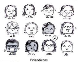 Friendicons by Helen-M