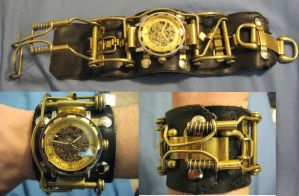Steampunk Watch III by xerquillus