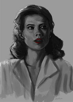 Day 7 - Agent Carter by nanyin
