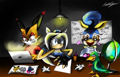 Team Anomaly HQ by Adam-Clowery