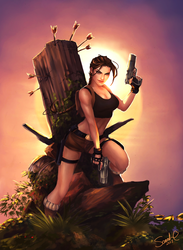 Tomb Raider by Forty-Fathoms