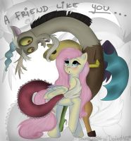 A Friend Like You by Drawing-Heart