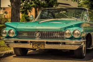 Cyan Buick by Skmaster666