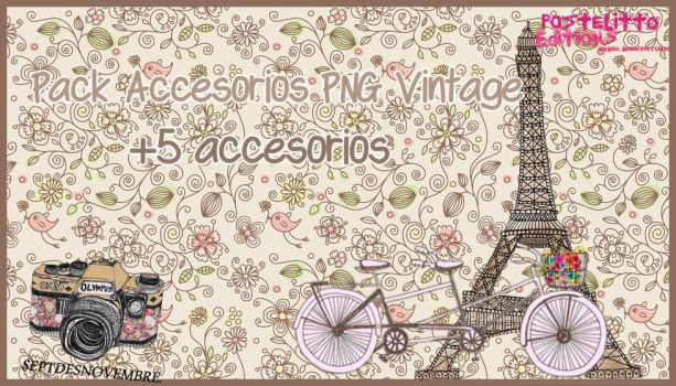 Accesorios PNG vintage by PastelittoEditions