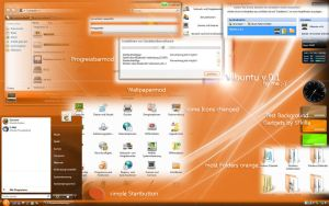 Vibuntu v.0.1 by AMGDesign