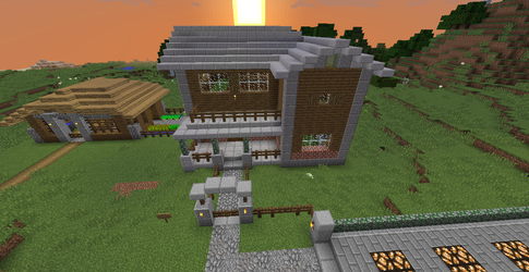 House in 1.11 by Rune-Plushheart