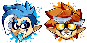 NEW Splatoon Icons by AdriOfTheDead