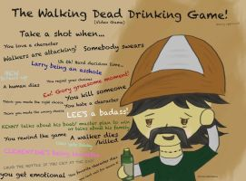 The Walking Dead Video Game Drinking Game by Junjou-DeathNote