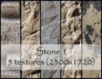 Stone texture pack 1 by dbstrtz