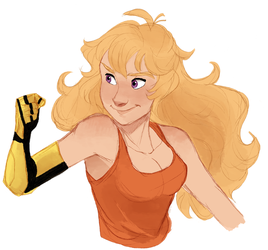 yang xiao long by thepacksurvives