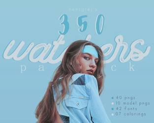 Hensgrej's 350 Watchers Pack by ohnoesflorence