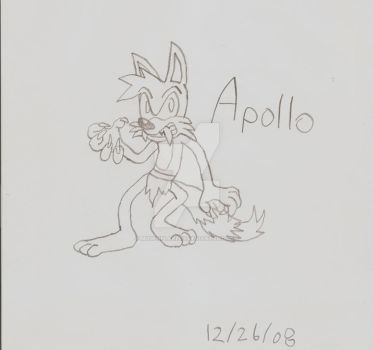 Apollo the Wolf (2010) by MugenPlanetX