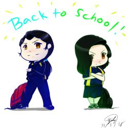 Back to school by AceLight525519