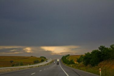 Road clouds by crazytux