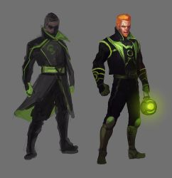 guy gardner redesign wip by unded