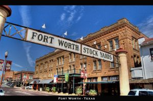 Fort Worth Texas HDR by nat1874