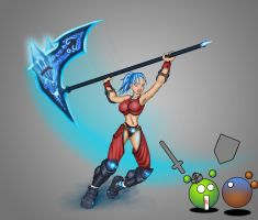Fez-runic warrior funny by Chacartz