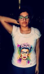 Colorful Frida Blouse by Darkevian