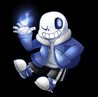 Sans by SilviShinyStar
