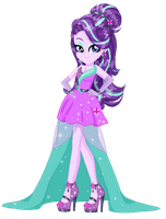 Starlight Glimmer Equestria girls- Gala dress by GihhBloonde
