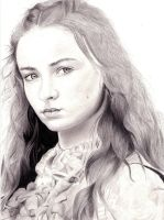Sansa Stark - Sophie Turner - Game of Thrones by Baricka