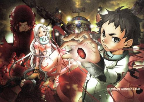Deadmans wonderland  by GGreen94