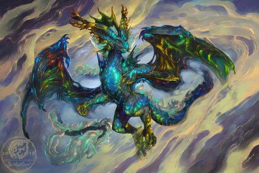 Irmoloros the dream dragon by The-SixthLeafClover