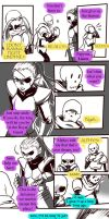 Failed Genocide! Undertale Gauntlet Throne Pt 4 by Dark-Merchant