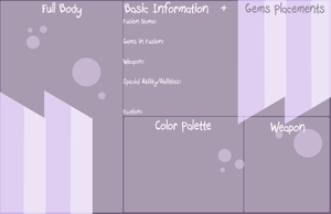 BASE: SU Gem Fusion Ref Template by InvaderIka