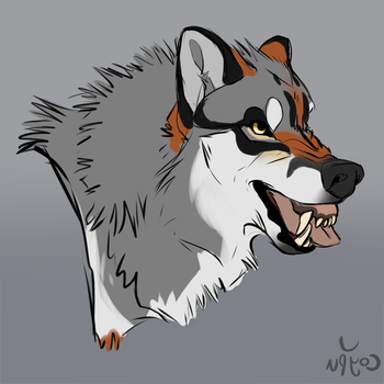 Snarl by CoypuCoyote