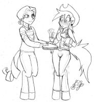 Cider Garret Hearts and Hooves Day by DJ-black-n-white