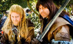 Fili and Kili ~ Hanami 2013 by Saki-Maru