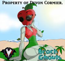 Beach Ghouls - Malus Appleseed by PlayboyVampire